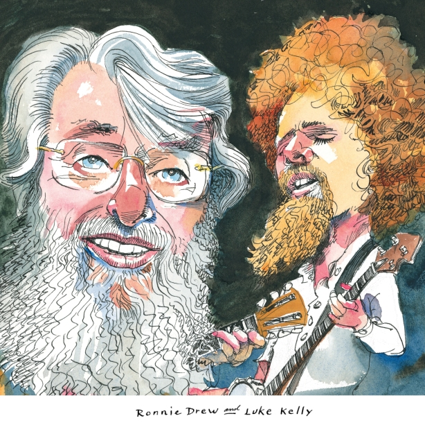 Luke Kelly and Ronnie Drew