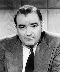 Senator Joe McCarthy born to Irish mother