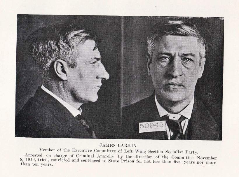 big jim larkin mug shots arrest