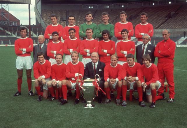 Man United 1968 European Cup Winners