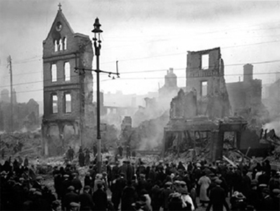 Cork City Torched by Black and Tans
