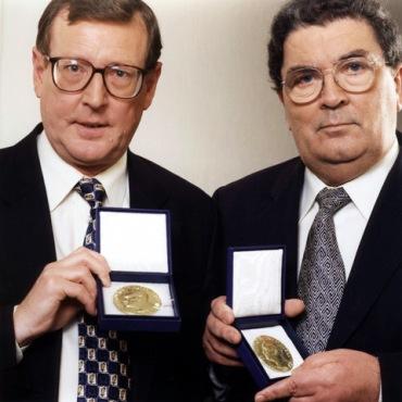 David Trimble and John Hume