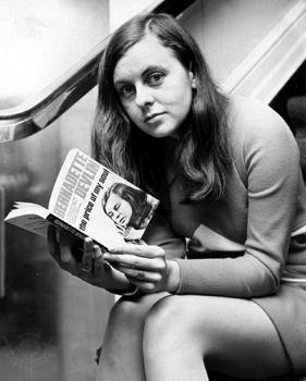 Bernadette Devlin, an MP at 21