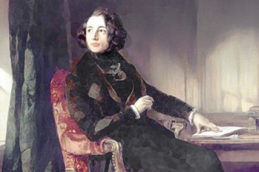 Portrait of Charles Dickens by Daniel Maclise