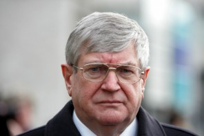 Former Justice Minister Ray Burke