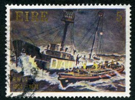 Daunt Rock commemoration stamp
