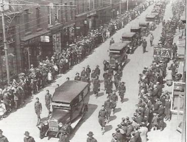 Funeral of Countess Markievicz 1927