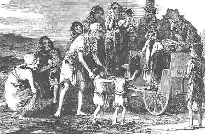 irish famine image