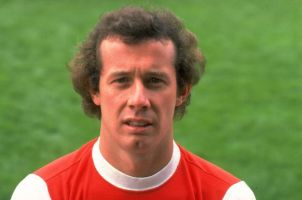 Arsenal and Ireland Liam Brady