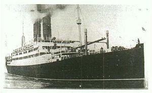 SS Tuscania torpedoed off rathlin island