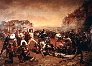 Battle of the Alamo - Irish at