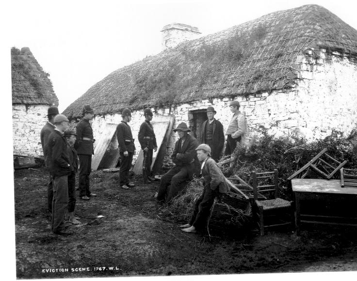 Ireland Famine Eviction 1879