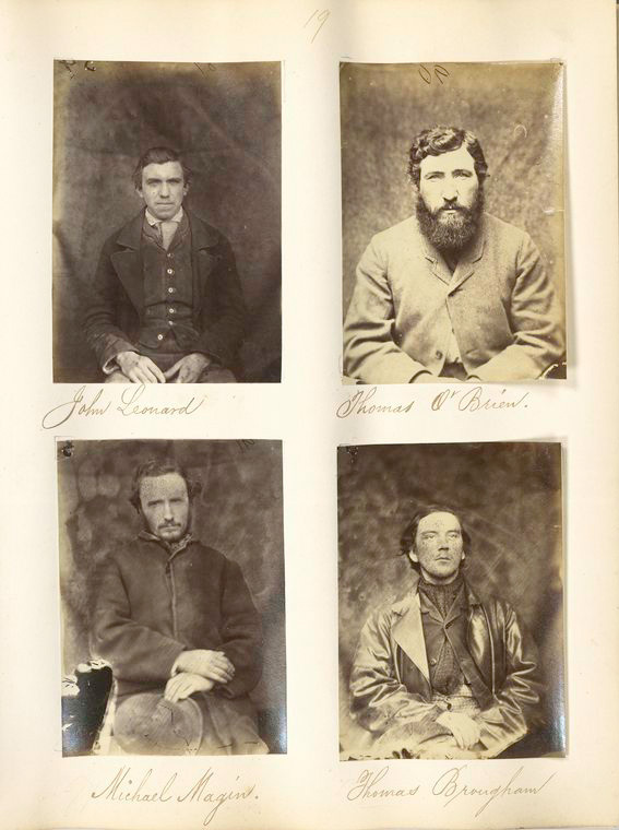 Captured Fenians Mountjoy Prison