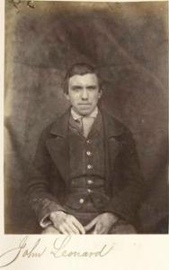 Fenian Prisoner Mountjoy Jail