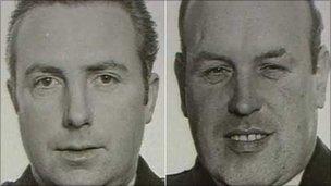 RIC Officers Harry Breen and Bob Buchanan