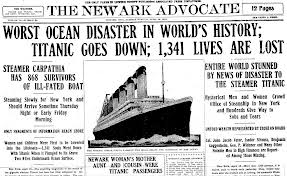 Titanic newspaper report 5